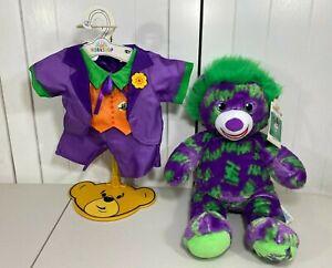 "💜 NEW Build A Bear DC Comics Batman JOKER 16"" w/ NEW Purple Suit Costume 💜"