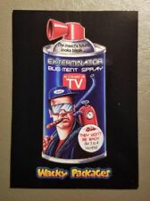 Exterminator Bug-Ment Spray Red Ludlow 24/25 2018 Topps Wacky Packages Go Movies