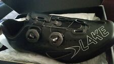 BIKE RACING SHOES BRAND NEW LAKE CX 237-X BLACK SIZE 11