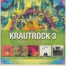 Krautrock 3 / Doldinger's Motherhood, Popol Vuh, Gila, Dennis, u.a. (5 CDs,OVP)