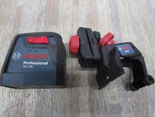 Bosch Professional Gll 30 Self Leveling Cross Line Laser New