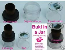Minerals Buki in Jar Veil Foundation Blush Bronzer Makeup Brush New Sealed Face