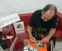 ANDREA MINGARDI Musica Foto Autografo Signed Music