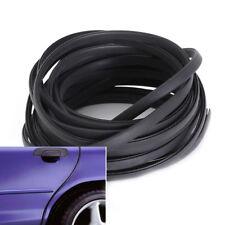 2M Auto Moulding Trim Strip Car Door Scratch Protector Edge Cover U Shape Black