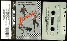 Breakin' Soundtrack USA Cassette Tape Ollie & Jerry Ice-T 3V Re-flex Fire Fox