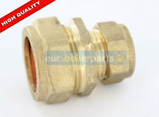 22mm x 15mm brass Compression Reducing Coupling BRAND NEW