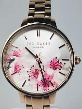 Ted Baker TE50005004 Kate Flower Dial Rose Gold Strap Ladies Watch £145