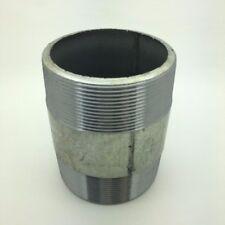 Tubo de hierro maleable EE Galvanizado Accesorios BSP' 3 barril Pezón * gbec 48 *