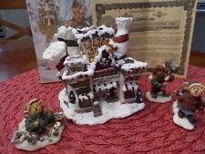 Boyds Bear Built Village Kringles Village Christmas w/accessories