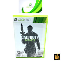 Call of Duty Modern Warfare 3 Xbox 360 Game (2011) Case Manual Disc Tested Works