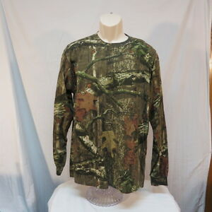 NWT Mossy Oak Camo Long Sleeve Shirt
