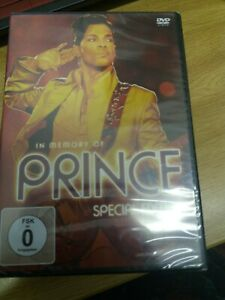 PRINCE IN MEMORY OF DVD NEW SEALED SPECIAL EDITION LIVE DOCU THE ARTIST BEST HIT