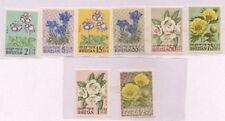 SPECIAL LOT Bhutan 1965 34-41 - Flowers - 100 Sets of 7v - Full Sheets - MNH