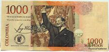 Billets de l'Amérique du Sud, de Colombie
