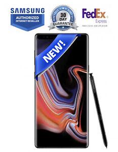 NEW SAMSUNG NOTE 9 N960U 128GB BLACK UNLOCKED VERIZON AT&T TMOBILE FEDEX 2 DAY