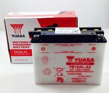 BATTERIE + ACIDE YUASA YB16AL-A2 DUCATI748 SPS7481998-1999