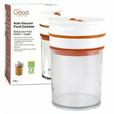 "Vacuum Seal Food Storage ""Smart"" Canister -Electronic Auto-Vacuum Canister 0.8 L"