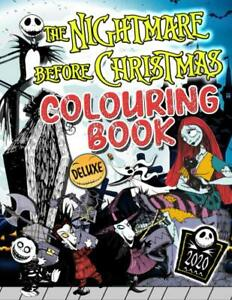 The Nightmare Before Christmas Colouring Book by James Hauser