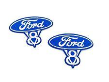 Ford V8 Patch - Paar - NEU - Original / Made in U.s.A!!!