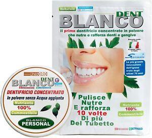 Blanco Dent Dentifricio Senza Fluoro in Polvere e Collutorio Natural Blancodent