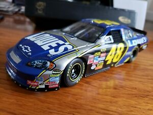 Jimmy Johnson 2007 Monte Carlo SS 48 Lowes Owners Elite 1:24 Scale Die Cast 2