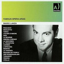 Mario Lanza - Famous Opera Arias RCA Orchestra Audio CD