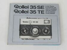 Original Rollei 35 SE and 35 TE Users Instruction Manual