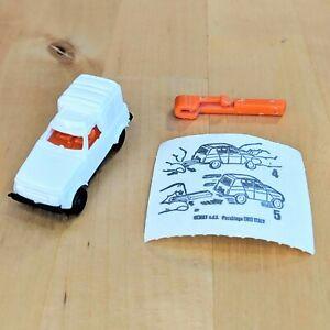 Kinder Egg Surprise Toy Van Car + Launcher + BPZ 1985 Very Rare Vintage Ferrero