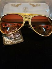 Elvis Presley Sunglasse New with Metal Arms  EP TCB Logo's