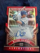 New Listing2015 Elite Extra Edition Prospect Autographs Aspirations Die Cut #184 Willson.