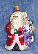 2000 Old World Christmas Ornament #4176 Believing In Each Other-Mint-W/Star Cap