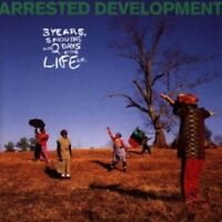 ARRESTED DEVELOPMENT - 3YEARS,5MONTHS & 2DAYS IN THE...  CD 15 TRACKS RAP NEW