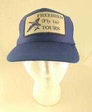 Vintage Trucker Hat Snapback Adjustable Mesh Flying Tours