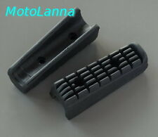 Footpeg Rubbers Front - Late Model Yamaha SR500 SR400 Cafe Racer High Quality
