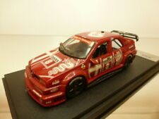 BBR ALFA ROMEO 155 V6 DTM 1993 #8 LARINI - RED 1:43 - BAD CONDITION on PEDESTAL