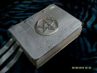 Custom 300+ page Spell Book of Shadows Handmade Witchcraft Pagan Grimoire