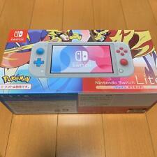 Nintendo Switch Lite The cyan and the magenta ver. Pokemon Sword JAPAN Anime NEW