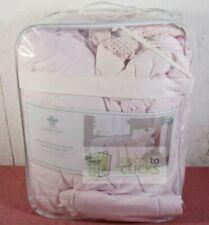 Simply Shabby Chic- Crochet Trim Comforter Set, Twin, Pink