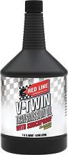 RED LINE V-TWIN HARLEY DAVIDSON TRANSMISSION OIL W/SHOCKPROOF 1QT REDLINE 42804