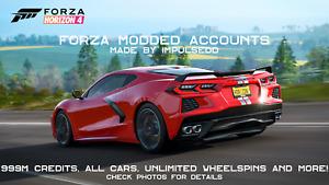 Forza Horizon 4 Modded Account w/ All Perks