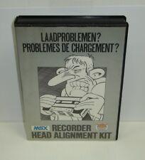 Msx cassette recorder head alignment kit