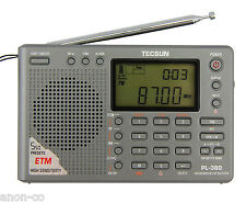 TECSUN PL-380 (Grey Color) DSP PLL World Band Radio    << ENGLISH VERSION >>
