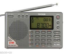 TECSUN PL-380 (Grey Color) DSP PLL World Band Radio    << ENGLISH VERSION >>