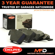 FOR VW CADDY GOLF LUPO BEETLE PASSAT POLO SCIROCCO SHARAN REAR DELPHI BRAKE PADS