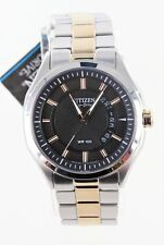 Pre-Owned Citizen Men's Eco-Drive HTM 2.0 Two Tone Rose Gold Watch AW1146-55H