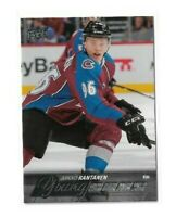 2015-16 UPPER DECK #206 MIKKO RANTANEN YG RC UD YOUNG GUNS ROOKIE AVALANCHE