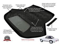 Mercedes W113 pagoda 230SL, 250SL, 280SL 63-71 Convertible Soft Top Black German
