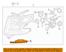 Chevrolet GM OEM Headlamp-Front Lamps-Headlamp Assembly Bracket Left 22937828