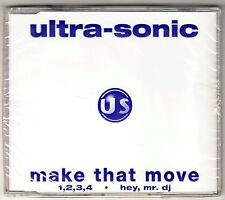 Ultra-sonic, Make that move / 1,2,3,4 / Hey, mr. dj -- NEU + OVP