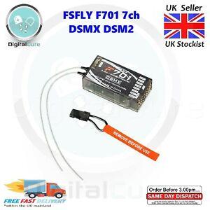 F701 Dsmx Récepteur DSM2 Spektrum Compatible Gamme Complète 2.4Ghz 7CH + Ppm